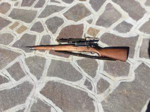 M1903 Springfield le armi della seconda guerra mondiale (collezione privata Fiorenzo Bianchini)