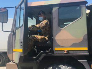 esercito e banco alimentare insieme per l'emergenza Covid-19