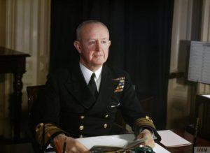 L'ammiraglio Andrew Cunningham