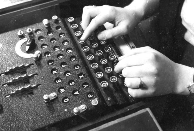 Enigma foto Bundesarchiv