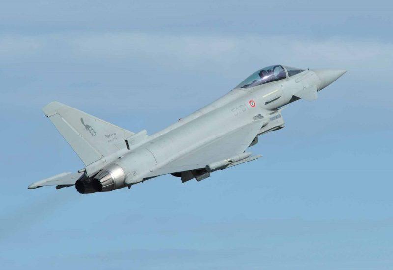 Eurofighter (foto Aeronautica Militare)