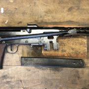 FNAB 43 brevetto Scalori, pistola mitragliatrice, le armi della seconda guerra mondiale