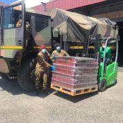 esercito e banco alimentare insieme per l