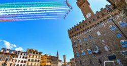 frecce tricolori su Firenze (fotocronache Germogli)