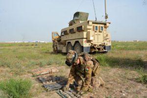 Herat, artificieri dell'ariete al lavoro