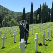 Memorial day 2020 al cimitero dei falciani