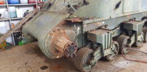 Restauro Sherman Firefly CRCS onus cingoli e ruote per conoscere la storia