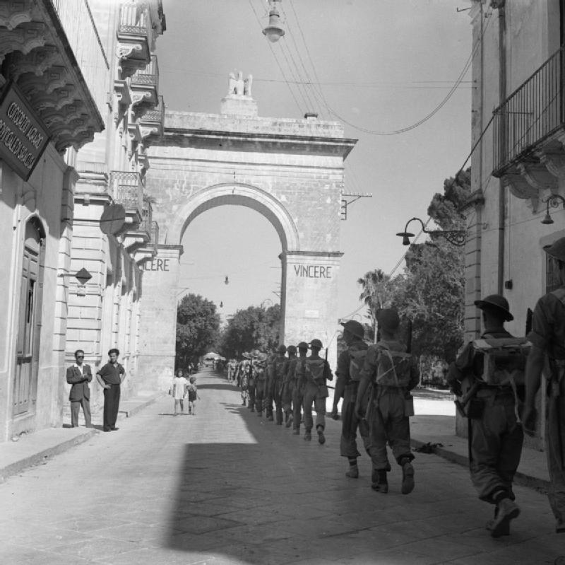 L'ottava armata inglese in sicilia (IWM)