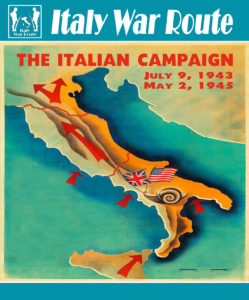 Italy war route la cartoguida