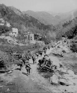 L'avanzata Usa verso la Gotica (National Archives)