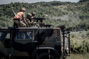 Steel forge reggimento Nembo (foto Esercito Italiano)