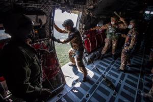 Capar, corso per paracadutisti folgore (foto Esercito Italiano)