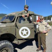 Colonna della libertà 2020 rievocazione reenactor willis ww2 armymag