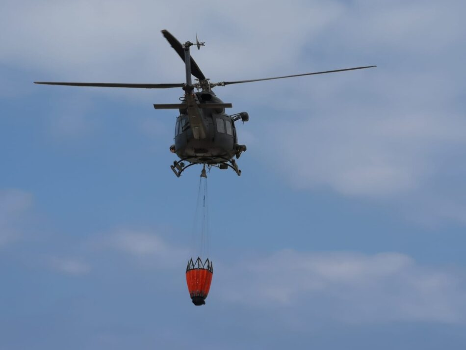 Antincendio Aviazione dell'esercito (foto Esercito Italiano)