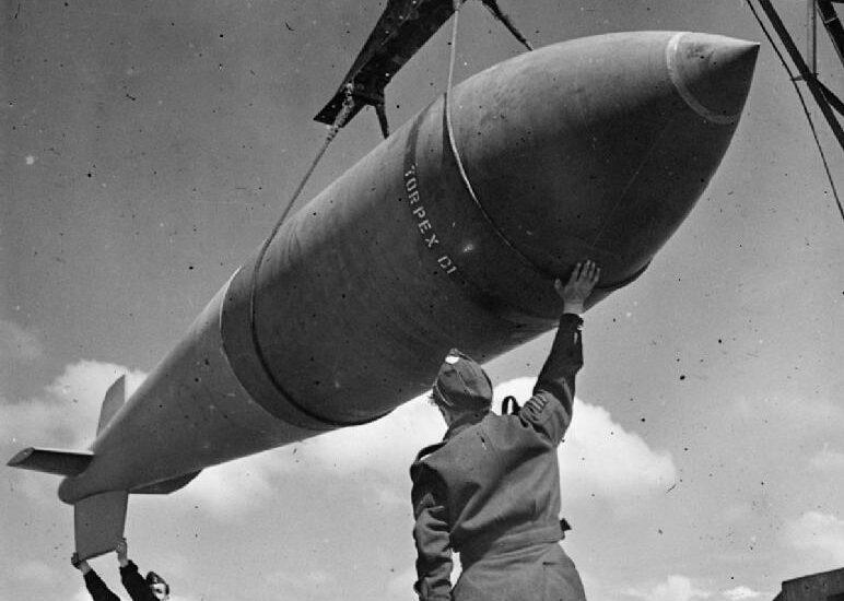 La Tallboy (foto Royal Air Force)