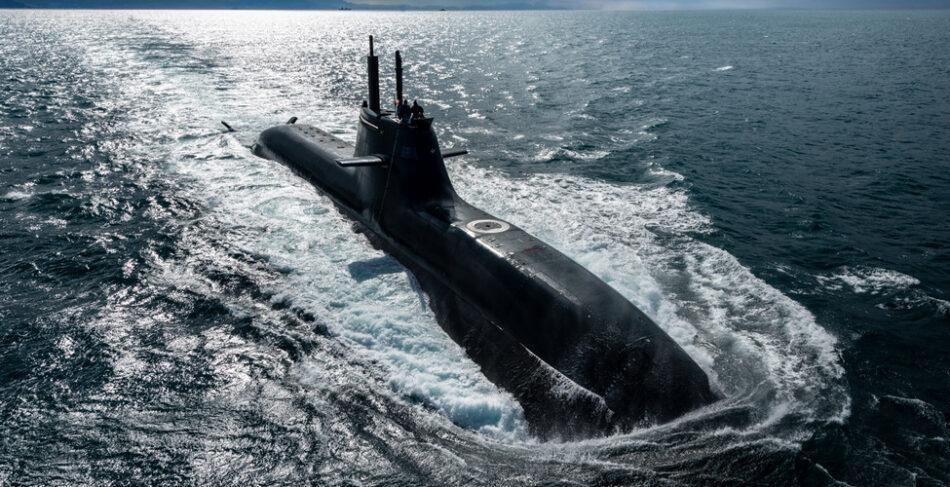 Un sottomarino U212 Classe Todaro della Marina Militare