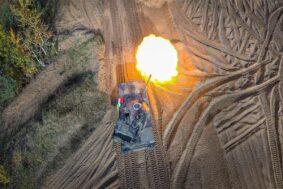 Missione in Lettonia Carro Armato C1 Ariete (foto Esercito Italiano)