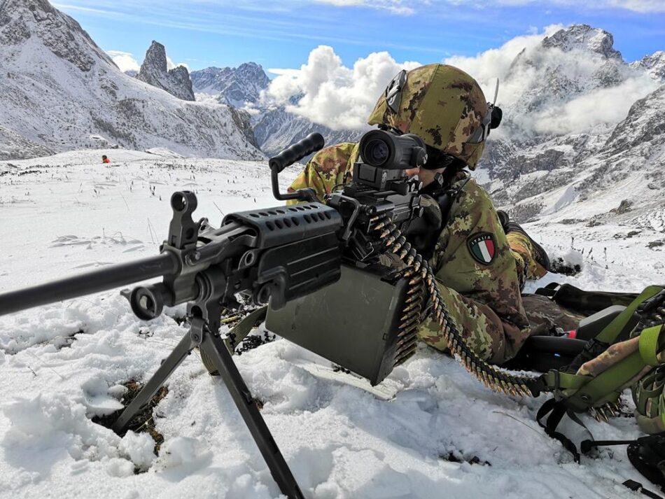 Alpini Tridentina mountain warfare (foto Esercito Italiano)