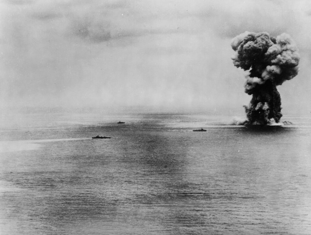 L'esplosione della Yamato