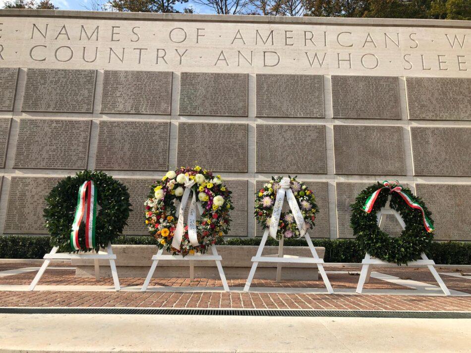 veteran day al cimitero Usa dei Falciani