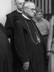 L'abate di Montecassino Gregorio Vito Diamare (Bundesarchiv)
