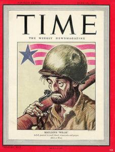 Bill Mauldin La copertina di Time Magazine del maggio 45