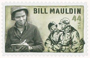 Il francobollo da 44 cent su Bill Moulding