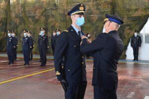 Consegna brevetti aeronautica militare