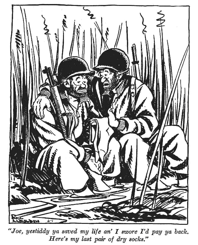 Le vignette di Willie and Joe di Bill Mauldin