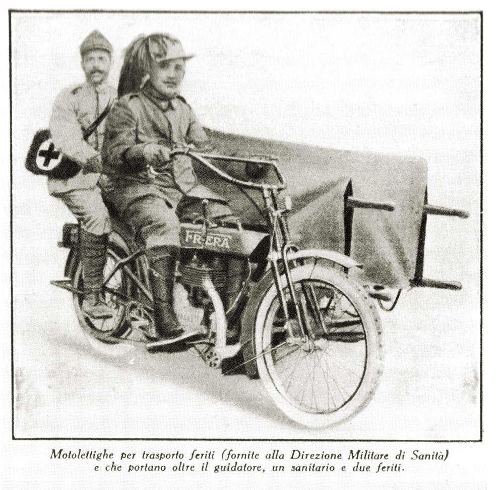 Moto Frera prima guerra mondiale (foto Frera)