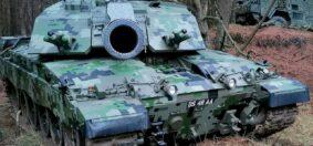 Il nuovo pattern digitale dei Tank inglesi (foto British Army)