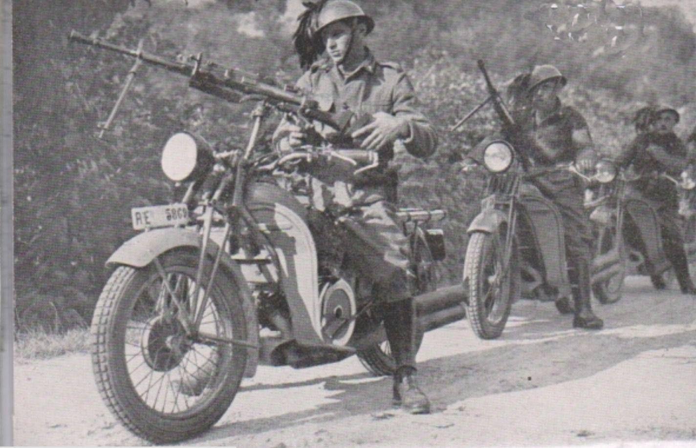Moto Guzzi Alce con Breda