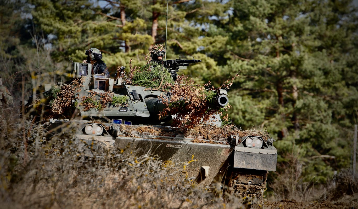 esercitazione Combined Resolve XV (foto Esercito Italiano)