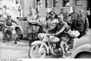 Jugoslavia, Spalato 1943 Dkw (Foto Bundescarchiv - Wikicommons)