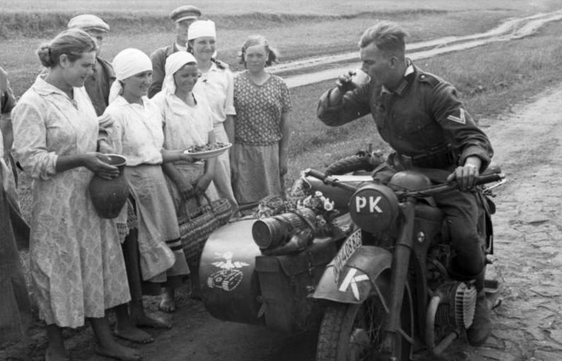 Campagna di Russia Bmw Zundapp (Foto Bundesarchiv)