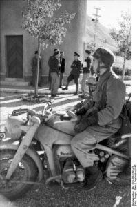 Campagna d'Italia Fallschirmjäger su una Zundapp
