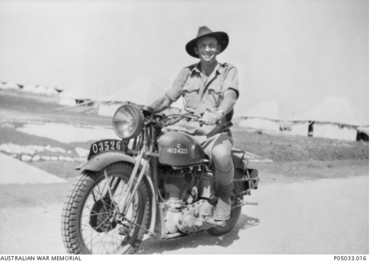 BSA m20 (Australian War Memorial)