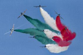 I 60 anni delle frecce tricolori (foto Aeronautica Militare)