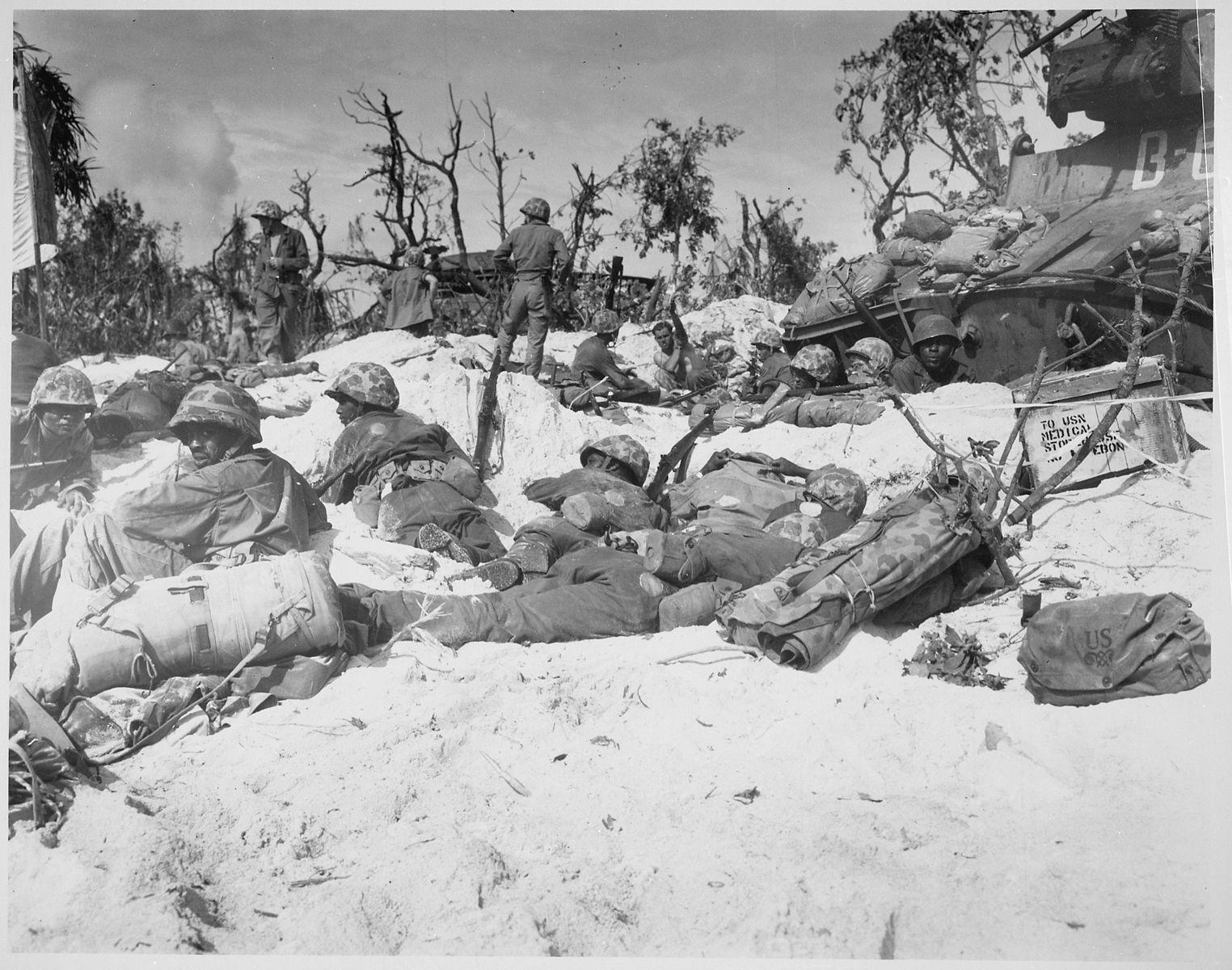 Battaglia di Peleliu (ph Marine Corps)