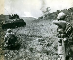 Un carro lanciafiamme (Marine Corps)