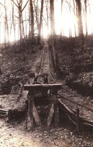 Il tunnel com'era all'epoca (Wikimedia)