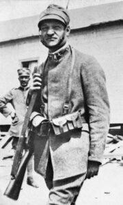 Giuseppe Ungaretti soldato prima guerra mondiale