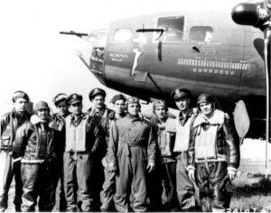 L'equipaggio del Memphis Belle (foto Us Air Force)