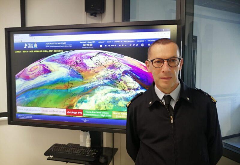 Il tenente colonnello dell'Aeronautica militare, Alessandro Fuccello