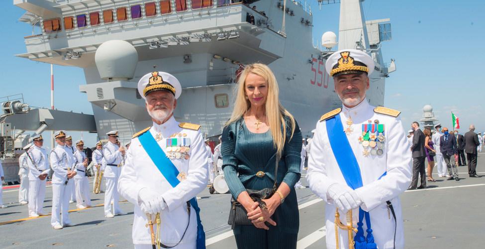Ammiraglio Treu, Credendino, sottosegretario Stefania pucciarelli
