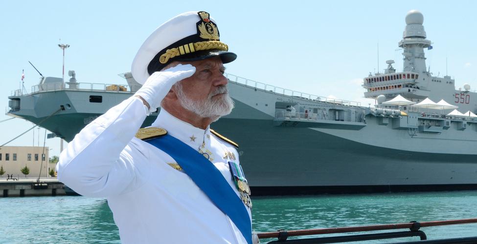 L'ammiraglio Paolo Treu