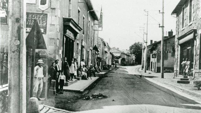 Il villaggio di Oradour negli anni '30