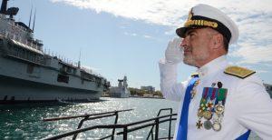 L'ammiraglio Enrico Credendino